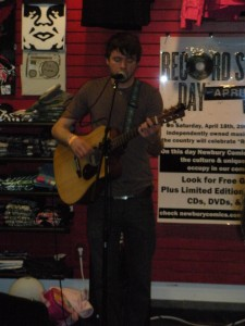 Daniel Chase at Newbury Comics