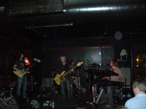 Dave (Guitar), Joe (Bass), Kelly (Drums) and Chris (Keys) of The Brew