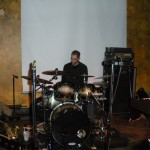 Joe Jannerelli soloing the skins off the drums