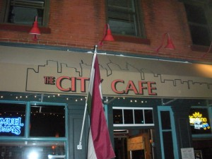 Downtown at The City Cafe