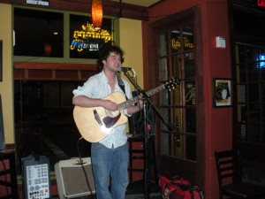 Kyle Nicholas at The City Cafe