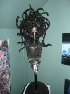 Crazy Medusa Sculpture